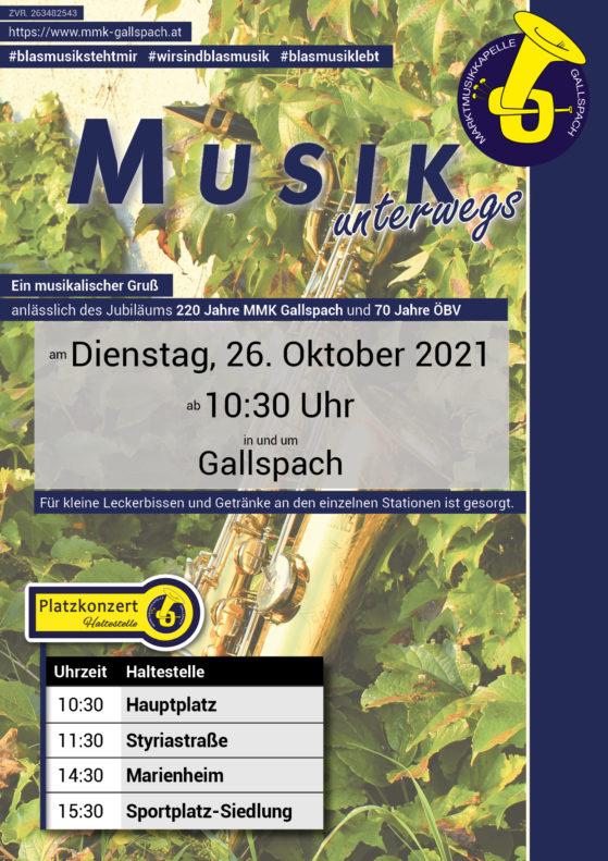 Musik unterwegs - 26.10